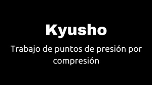 kyusho puntos por compresion