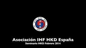 Seminario de Hapkido por la IHF 3